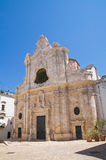 Church of St. Maria La Greca. Royalty Free Stock Image