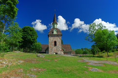 Church of St. Maria Magdalena, Aland Islands Stock Photo