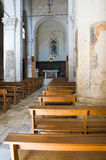 Church of St. Maria Maggiore. Monte Sant'Angelo. Puglia. Italy. Royalty Free Stock Photos