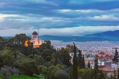 Church of St Marina in Thissio in Athens, Greece Stock Photography