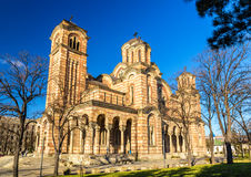 Church of St. Mark in Belgrade Royalty Free Stock Photo