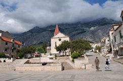 Church of St. Mark, Makarska Stock Photography