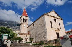 Church of St. Mark, Makarska Royalty Free Stock Photo