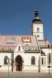 Church of St Mark, Zagreb. Croatia Royalty Free Stock Photo