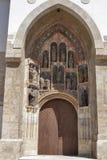 Church of St Mark, Zagreb. Croatia royalty free stock photos