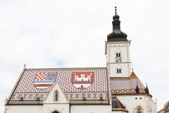 Church of St. Marko Royalty Free Stock Image