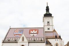 Church of St. Marko Royalty Free Stock Image