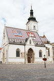 Church of St. Marko Royalty Free Stock Photos