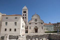 Church St. Marry in Zadar Stock Photo