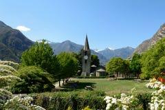 Church of St. Martin. Arnard - Aosta Valley - Italy Royalty Free Stock Photos