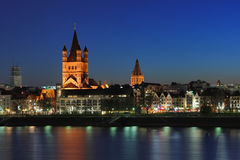 Church of St. Martin in Cologne Royalty Free Stock Photo