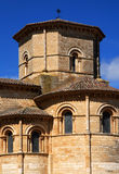Church of St. Martin  in Fromista. Romanesque church of St. Martin  in Fromista  Northern Spain Royalty Free Stock Photography