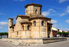 Church of St. Martin  in Fromista. Romanesque church of St. Martin  in Fromista  Northern Spain Royalty Free Stock Images