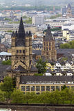Church of St. Martin and the historic City Hall in Cologne Royalty Free Stock Images