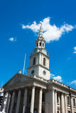 The church of St Martin's-in-the-Field London near Trafalgar Squ Stock Photo