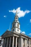 The church of St Martin's-in-the-Field London near Trafalgar Squ Stock Photo