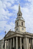 The church of St Martin& x27;s in the Fields London Stock Image
