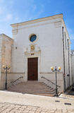 Church of St. Martino. Ginosa. Puglia. Italy. Royalty Free Stock Photo