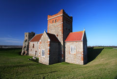 The church of St Mary in Castro in England Royalty Free Stock Images