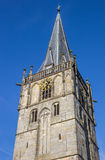 Church of st. Mary on the central square of Ahaus. Germany Stock Image