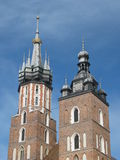 Church of St Mary, Cracow, Poland. Church of St Mary in Cracow, Poland Royalty Free Stock Image