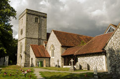 Church of St Mary, King's Worthy, Hampshire Stock Photography