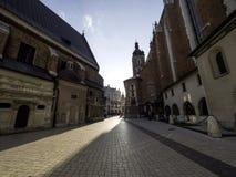 Church of St. Mary in Krakow Royalty Free Stock Photo