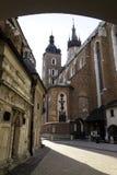 Church of St. Mary in Krakow Stock Photo