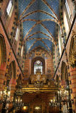 Church of St Mary - Krakow - Poland stock photos