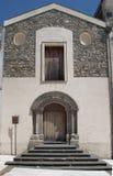 Church St. Mary La Nova, Melfi village, Italy royalty free stock photos