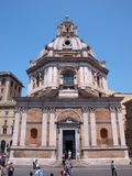 Church of St. Mary of Loreto, Rome, Italy Stock Photos