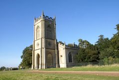 Church of St Mary Magdalene, Croome Park, England Royalty Free Stock Photos