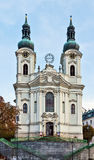 Church of St. Mary Magdalene,Karlovy Vary Royalty Free Stock Images