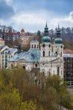 Church of St. Mary Magdalene,Karlovy Vary Stock Photography