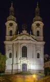 Church of St. Mary Magdalene,Karlovy Vary Stock Image