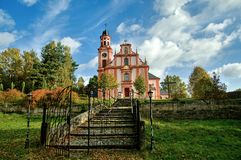 Church of St. Mary Magdalene. In Marenice - Czech Republic Royalty Free Stock Photos