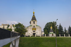 Church of St Mary Magdalene. In Minsk - Orthodox church, was constructed in the middle of the XIX century stock images