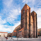 Church of St. Mary Magdalene in Wroclaw Stock Image