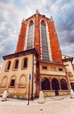 Church of St. Mary in the main Market Square. Krakow. Stock Images