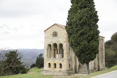 Church of St Mary at Mount Naranco Stock Images