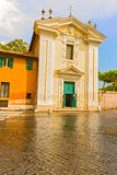 The Church of St Mary in Palmis in Rome, Italy Stock Images