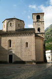Church of St. Mary River. Catholic church of St. Mary's River in Kotor (Montenegro Royalty Free Stock Photos