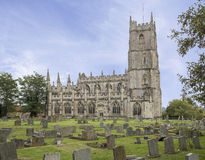 Church of St Mary Steeple Ashton Royalty Free Stock Images