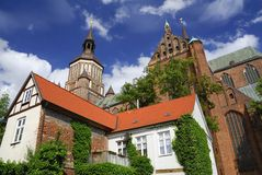 Church of St. Mary - Stralsund Royalty Free Stock Images