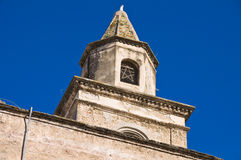 Church of St. Matteo. Bisceglie. Puglia. Italy. Royalty Free Stock Images