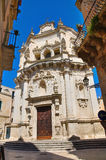 Church of St. Matteo. Lecce. Puglia. Italy. Royalty Free Stock Photo