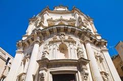 Church of St. Matteo. Lecce. Puglia. Italy. Stock Image