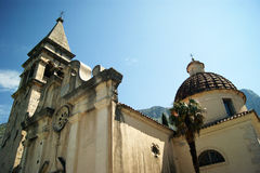 Church of St. Matthew. In Dobrota (Montenegro Stock Photos