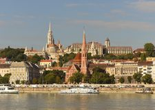 Church of St. Matthias, Fisherman`s Bastion, Calvinist Church, D Stock Photo