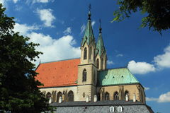 Church of St. Maurice in Kromeriz Royalty Free Stock Image